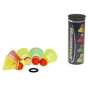 Speedminton MIX Speeder - 5er Pack Speed Badminton/Crossminton Bälle gemischt...
