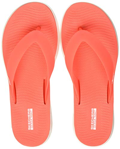 Skechers Damen Nextwave Ultra-Tropicz Zehentrenner, Pink (Coral Crl), 39 EU -
