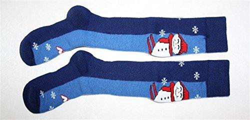 nordica-chaussette-de-ski-enfant-laine-merinos-bleu-35-38