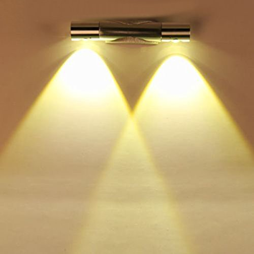 Finether 6W Lampada da Parete LED, bianco caldo