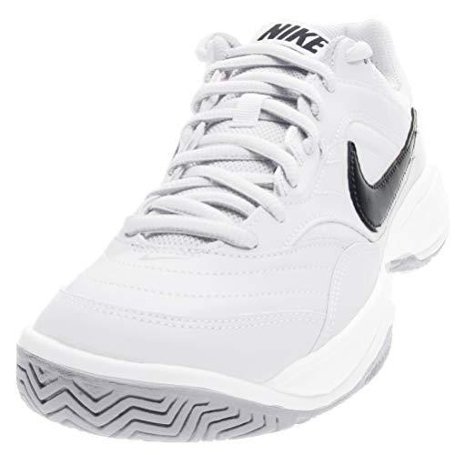 Nike Court Lite, Zapatillas de Tenis para Hombre, Blanco/Negro (White/Black/Medium Grey 100), 44.5