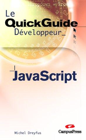 JavaScript par Michel Dreyfus