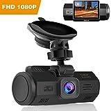 Auto Kamera, SENDOW Dash Kamera 1080p Full HD Autokamera 2 Zoll LCD Bildschirm Dash Cam Dashcam Auto DVR mit Nachtsicht 150° Weitwinkel WDR, G-Sensor, für KFZ & LKW, Taxi, Uber