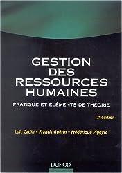 Gestion des ressources humaines : Pratique et éléments de théorie