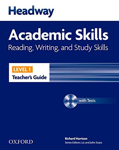 Headway Academic Skills 1. Reading, Writing and Study Skills: Teacher's Guide with Test Pack (New Headway Academic Skills)