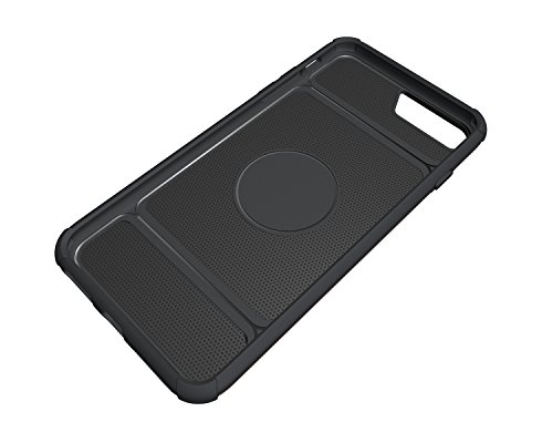 Custodia iPhone 7 Plus, iPhone 7 Plus Cover Silicone, SainCat Custodia in Morbida TPU e Hard PC Protettiva Cover per iPhone 7 Plus, 2 in 1 Custodia Cover Shock-Absorption Antiurto 3D Design Silicone C Rose Gold