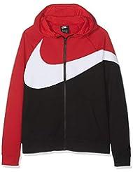 Nike B NSW Hbr Hoodie Fz Ft Stmt Sweat-Shirt Garçon