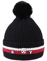 4d5d65b5032 Innersetting Newborn Baby Kids Boys Girls Warm Hat Winter Cute Dog Beanie  Fur Pompon Cap
