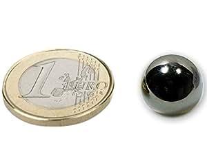 Aimant sphère Ø 12,7mm N40 nickel, 1 piéce, force 2,8kg