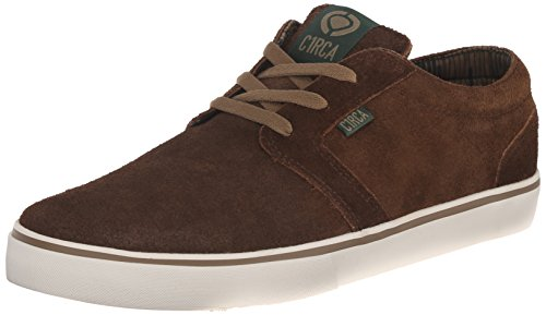 Homme d'Hiver Chaussures Env. Hesh Chaussures d'hiver Dark Brown/Ermine
