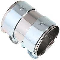Homyl 1 Pc de Tapa de Tubo de Escape para Carros Diámetro Interno de 63mm