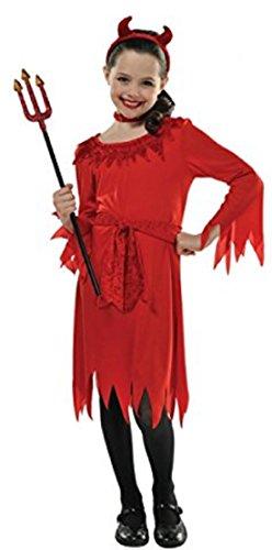 Kinderkostüm Teufel Kleinkind 8-10 (Kleinkinder Kostüme Kleiner Teufel)