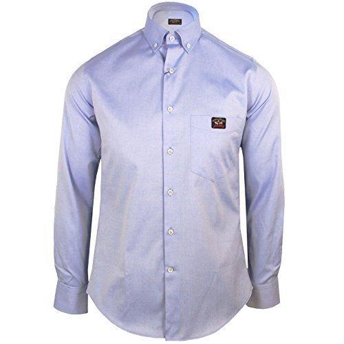 Paul & shark camicia casual - uomo blu small