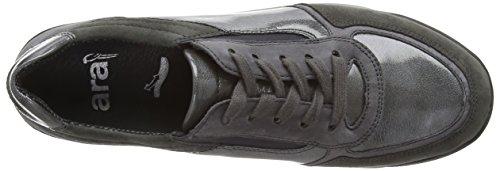 ara  Rom, Sneakers basses femmes Gris (fumo,street -07)