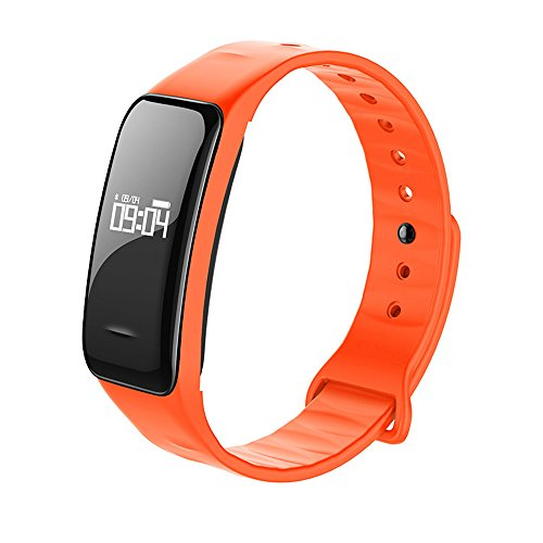 Yallylunn B1 Blood Oxygen Pressure Heart Rate Monitor Pedometer Smart Watch Band Bracelet Multi Sport Modus Auto Pedometer Erinnerungsfunktion