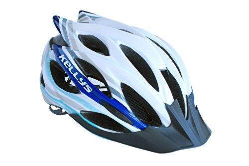 KLS Helm Dynamic White/ Arctic Blue S/M 54cm-58cm