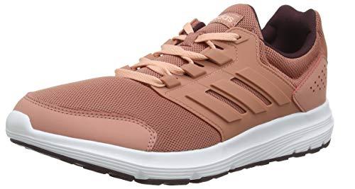adidas Galaxy 4, Zapatillas de Running para Mujer, Rosa (Raw Pink/Raw Pink/Maroon Raw Pink/Raw Pink/Maroon), 40 EU