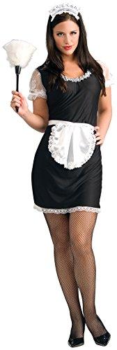 Rubie's French Maid Erwachsene Kostüm One Size Fit