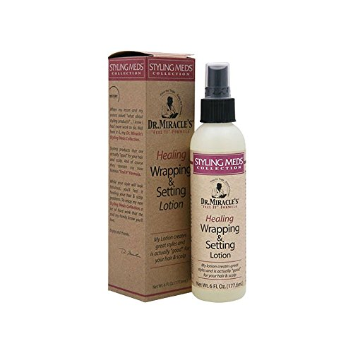 DR.MIRACLE'S Healing Wrapping & Setting Lotion 6oz/177.6ml
