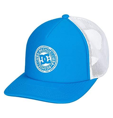 DC Shoes Vested Up - Trucker Cap - Truckerkappe - Jungen 8-16 - ONE Size - Blau (Dc Für Kinder Blau Hüte)
