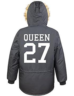 Queen 27 Parka Girls Nero Certified Freak