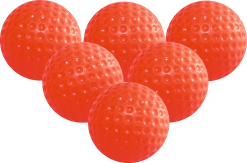 Longridge Jelly Balles de golf d'entraînement Unisexe Lot de 6