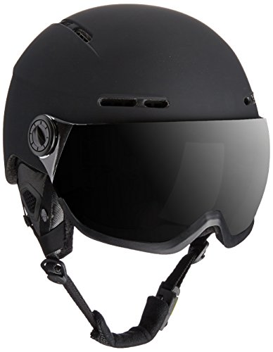 Cébé Skihelm Fireball Cat 1 und 3, Black, 58-62 cm, CBH125