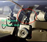 Dash Cam Suction Mount for Transcend 16 GB DrivePro 200 Car Video Recorder with Built-In Wi-Fi