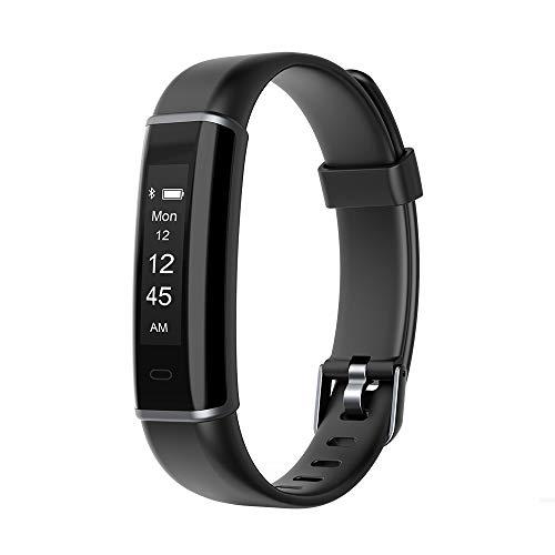 Huyeta Fitness Armband Fitness Tracker Aktivitätstracker Wasserdicht IP67 Schrittzähler Schlank Fitness Uhr schrittzähler Kinder mit Schlafüberwachung Wecker und Kalorienzähler für Android und iOS
