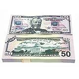 Kongqiabona 10 Teile/Satz Spezielle Amerikanische Goldfolie Dollar Banknote Gefälschte Geld Kunsthandwerk Hoch Sammlung Kunst Bastelbedarf