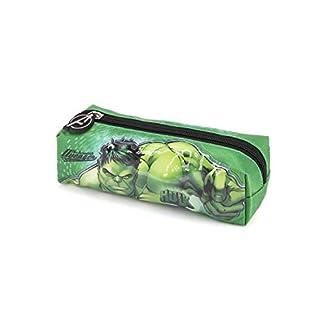 Karactermania Hulk Rage-Quadrat Federmäppchen Estuches 22 Centimeters Verde (Green)