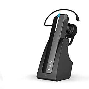 HAVIT HV-H913BT wireless Bluetooth 4.0 Headset, für Apple iPhone und anderen Bluetooth-Gerät, Schwarz