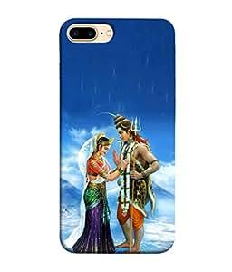 Iphone 7 Plus Backcovers By PrintVisa (Ram Rama Ganesh Ganapati Krishna Srikrishna Kisna Kanayya Kanaiyah Mohana)