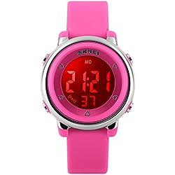 montres numériques étanches/montre pour enfants/les hommes et les femmes,Étudiant,fashion,montre lanterne-rouge