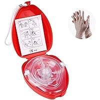 Cpr Beatmungsmaske Mit Filter,CPR Tasche Rescue Maske mit aufgedruckter Ersthelfer-Anleitung und Transportbox... preisvergleich bei billige-tabletten.eu