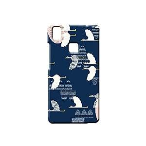 BLUEDIO Designer Printed Back case cover for VIVO V3 - G5287