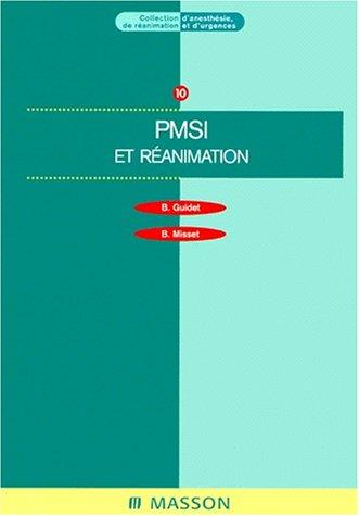 PMSI et réanimation