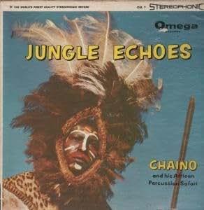 JUNGLE ECHOES LP (VINYL ALBUM) US OMEGA