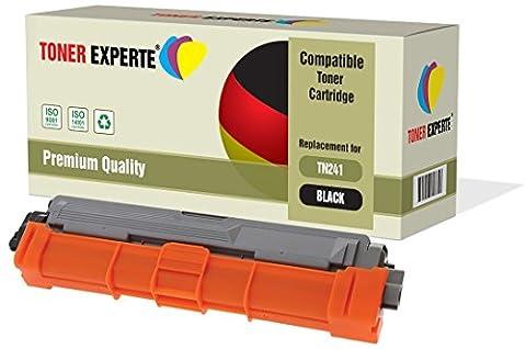 TONER EXPERTE® Compatible TN-241BK TN241 Noir Cartouche de Toner pour Brother DCP-9015CDW, DCP-9020CDW, MFC-9140CDN, MFC-9330CDW, MFC-9340CDW, HL-3140CW, HL-3142CW, HL-3150CDW, HL-3152CDW, HL-3170CDW, HL-3172CDW, MFC-9130CW
