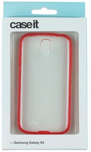 Caseit Custodia a Incastro con Finestrella per iPhone 6 4,7, Nero Rosso