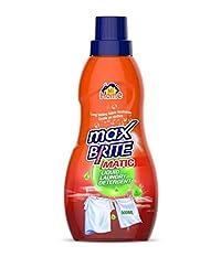 Mi Home MAX BRITE MATIC LAUNDRY LIQUID DETERGENT 500 ml (PACK OF 5)