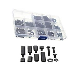 iplusmile M3 Schrauben Muttern Kit Sechskant-Käsekopf-Schrauben Muttern für Kinderbett, Etagenbett, Kinderbett, Möbelbolzen