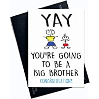 Grossesse Annonce Surprise Card Cartes De Visite Going To Be A Big Brother
