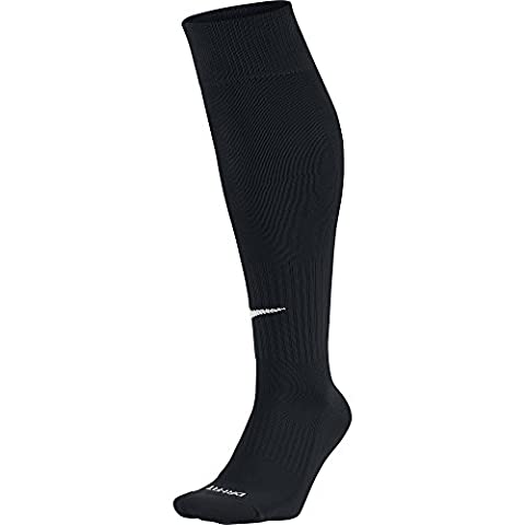 Nike Knee High Classic Football Dri Fit - Chaussettes de football - Academy - Mixte adulte - Noir/Blanc - L (Taille fabricant: 42-46)