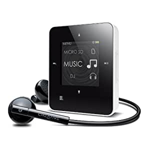Creative Zen Style M100 MP3-Player 4GB (3,7 cm (1,45 Zoll) TFT-Display, USB) schwarz/weiß
