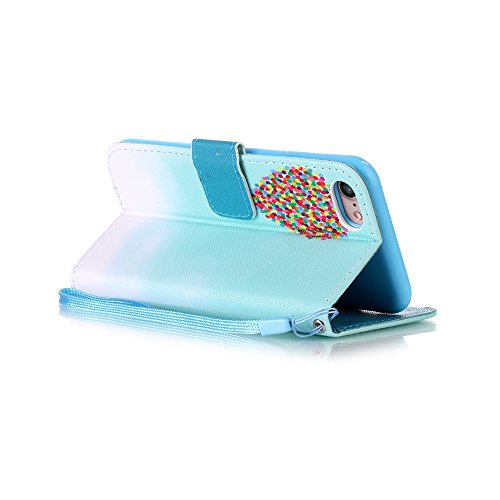 HX-439【Eine Vielzahl von Mustern】iPhone 6 Handyhülle Case für iPhone 6 Hülle im Bookstyle, PU Leder Flip Wallet Case Cover Schutzhülle für Apple iPhone 6(4.7 Zoll) Schale Handyhülle Cover im Bookstyle Farbe-12