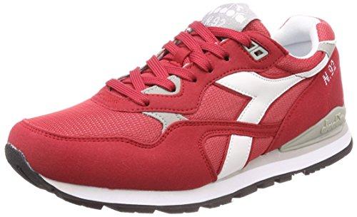 Diadora N.92, Chaussures de Gymnastique Homme Rouge
