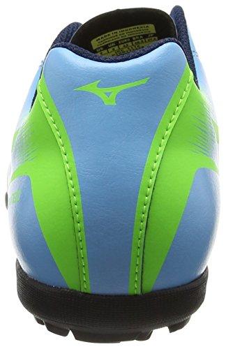 Mizuno Monarcida Neo As, Chaussures de Football Homme Bleu (Norse Blue/neon Green)