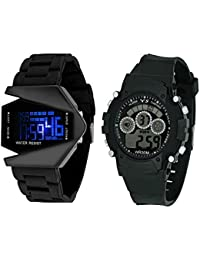 Swadesi Stuff New Arrival Multi Color Premium Quality Kids Digital Watch Combo for Boys and Children