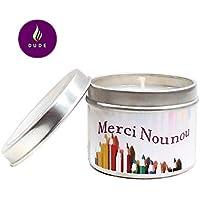 Bougie Parfumée au Choix Merci Nounou Bougie Naturelle Cadeaux Nounou Merci Cadeaux Cadeaux Personnalisés